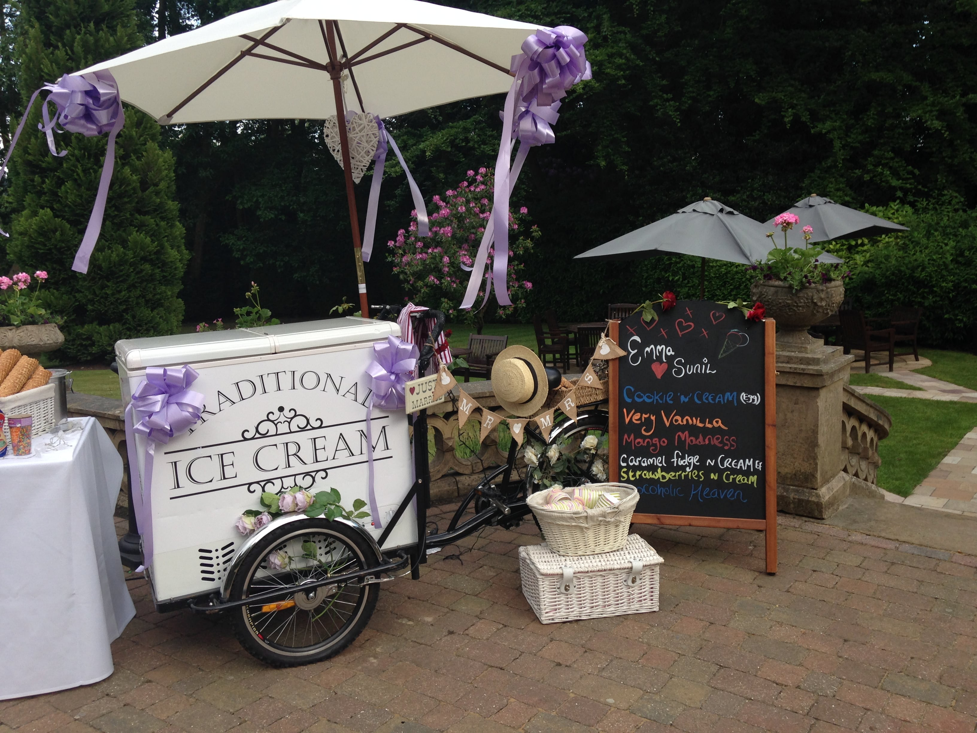 Ice Cream Trike Hire