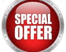 Special Offer ice cream trike, special offer photo booth, special offer LOVE Sign, special offer chocolate fountain
