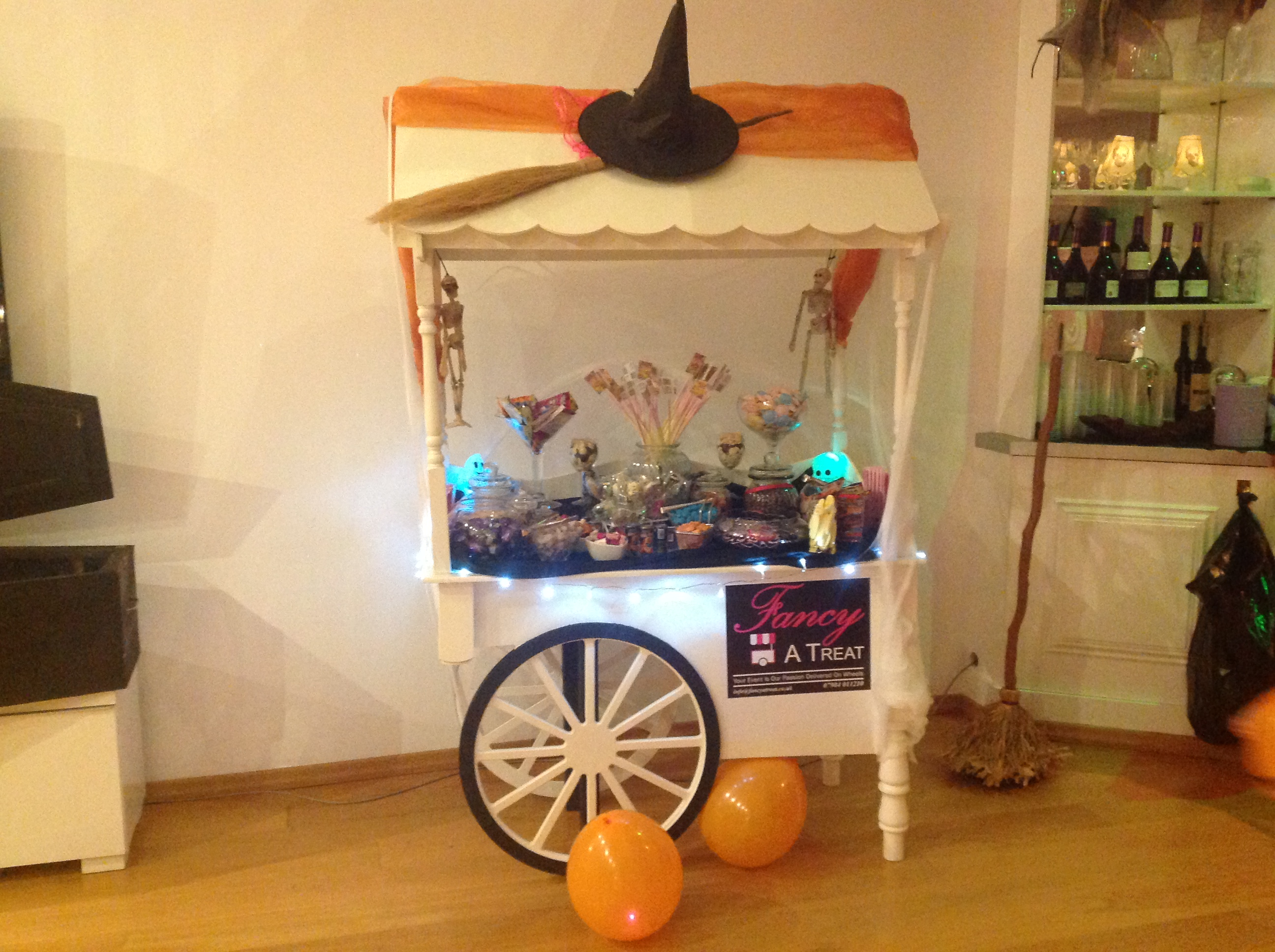 Candy Bufffet Cart