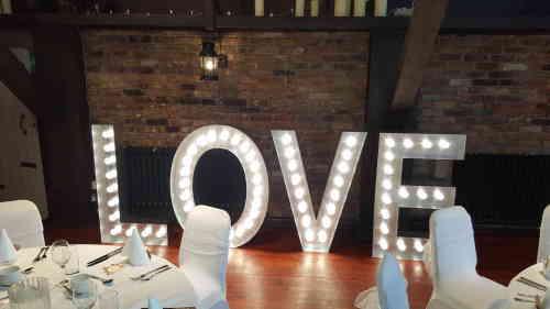 LOVE Sign Giant Letters Fancyatreat.co.uk