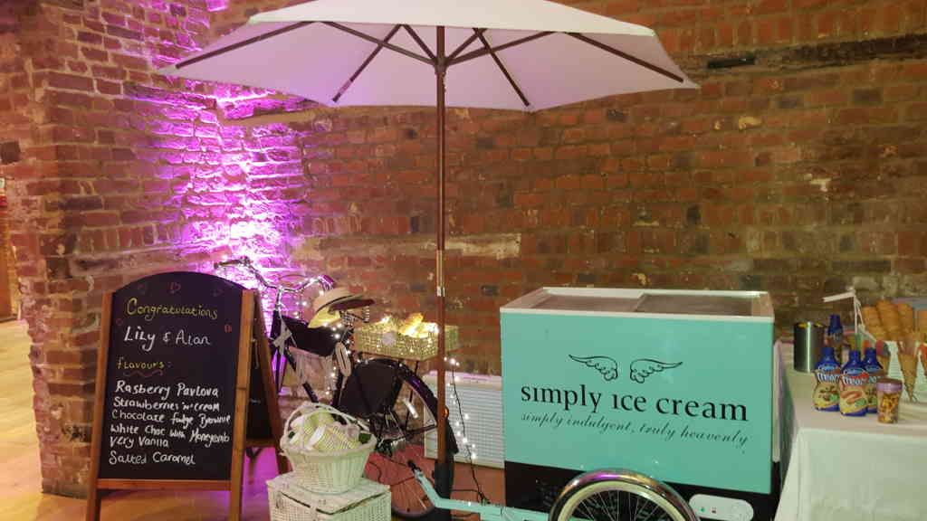 Ice Cream Cart London Wedding