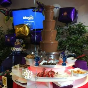 Luxury Chocolate Fountain Wedding