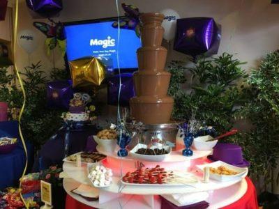 Luxury Chocolate Fountain Wedding