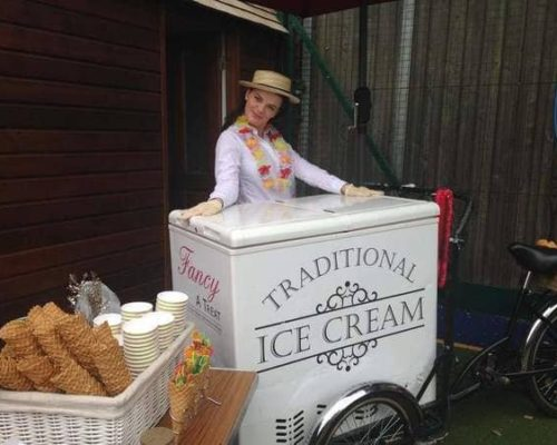 Ice Cream Cart Vintage Bike fancyatreat