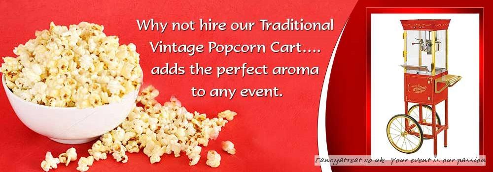 Vintage Popcorn Cart...