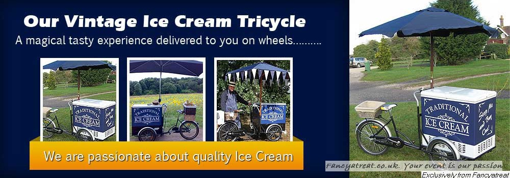 Vintage Ice Cream trike hire